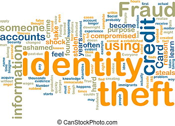 wordcloud, furto identità