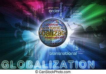 wordcloud, globalization
