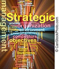 wordcloud, kierownictwo, jarzący się, strategiczny