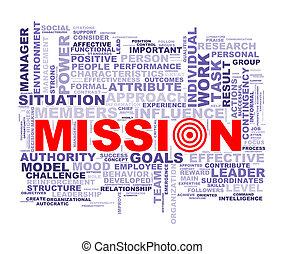 wordcloud, palabra, misión, etiquetas