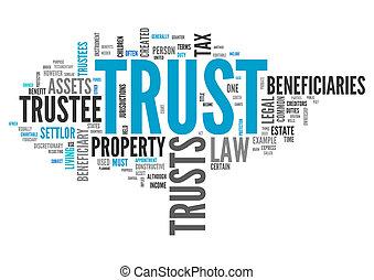 wordcloud, vertrauen