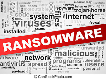 Wordcloud wordcloud tags of malware ransomware -...