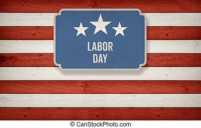 labor day on banner, Fourth of July, Background, USA themed composite