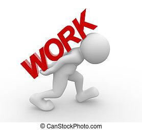 """""""work"""", 词汇"""