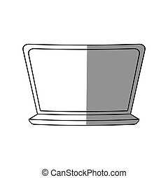 work computer image design, vector illustration icon