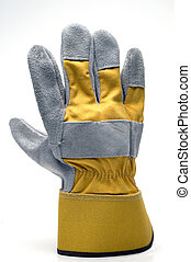 glove work heavy duty leather carpenter construction