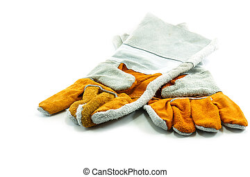 Work Gloves Isolated on white background