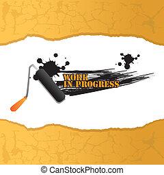 work in progress design