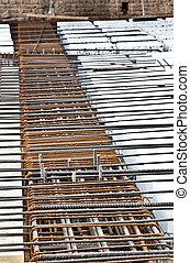 Work in progress: floor - Technical detail of building...