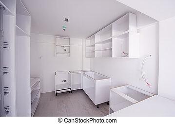 work in progress on the kitchen interior - work in progress ...