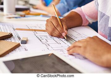 Work of engineer
