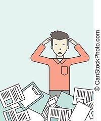 Work overload.
