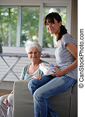 Work to help elderly