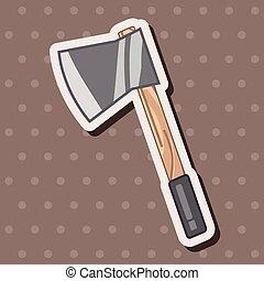 work tool axe theme elements