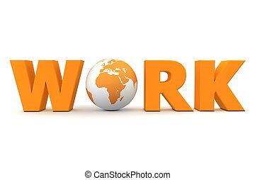 Work World Orange