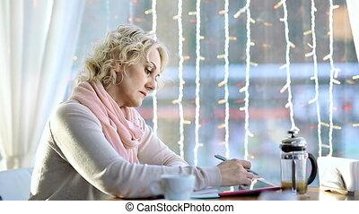 Workaholic Lady