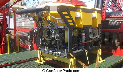 Workclass ROV 2 - A deepwater workclass Remote Operated...