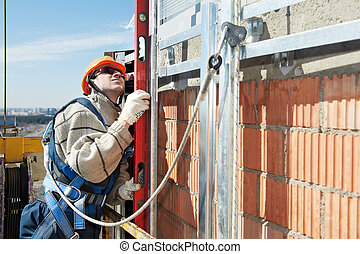 Worker builder at facade construction works