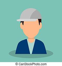 worker construction avatar icon