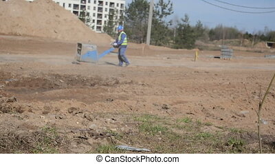 worker construction site