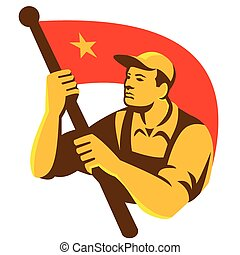 worker-flag-circle-side