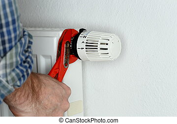 attaching a thermostat