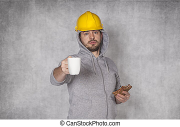 Worker proposes coffee