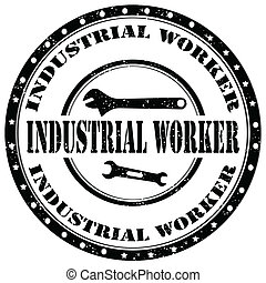 worker-stamp, industrial