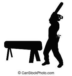 worker vector illustration