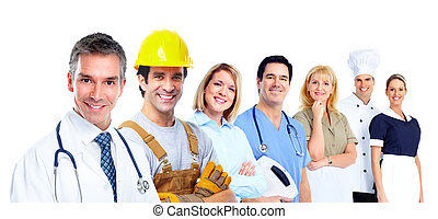 workers., industriel