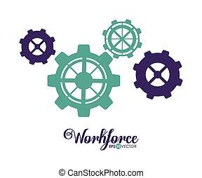 workforce, projektować