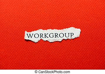 workgroup, czerwony