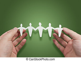 Working Better Together - People Symbol