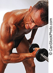 Working biceps
