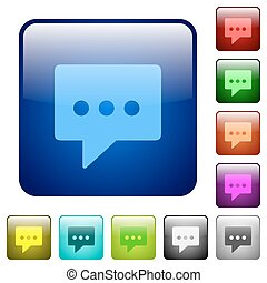 Working chat color square buttons