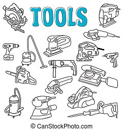 Working construction tools