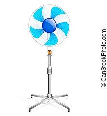 working floor fan