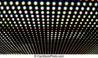 Working led screen macro - Working led screen close up