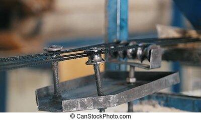 Working mechanism - producing of fiberglass reinforcement...