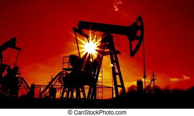working oil pump loopable