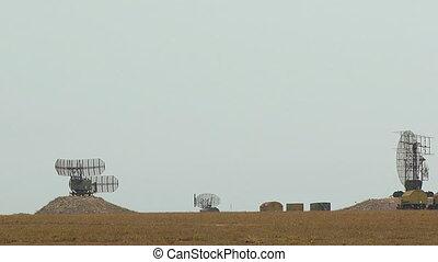 Working radar