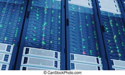 Working Servers in Modern Data Center. Complex Calculations....