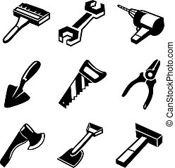 Working Tools Icons Set