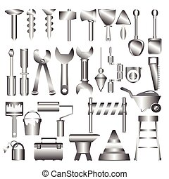 Working tools mteal icon
