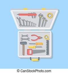 Working tools set.
