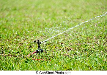 working water sprinkler