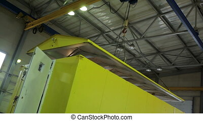 Working with Crane in Steel warehouse - Working with Crane...