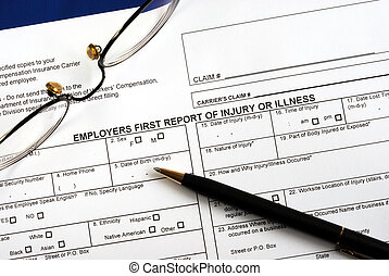 Workmen compensation claim form - Fill in the workmen...