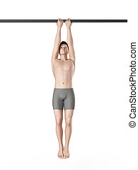 exercise illustration - close grip chin up
