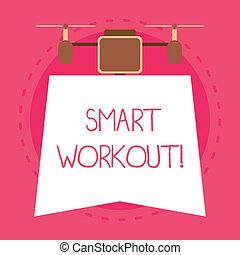 workout., conjunto, ser, foto, top., diseño, necesidad, ...